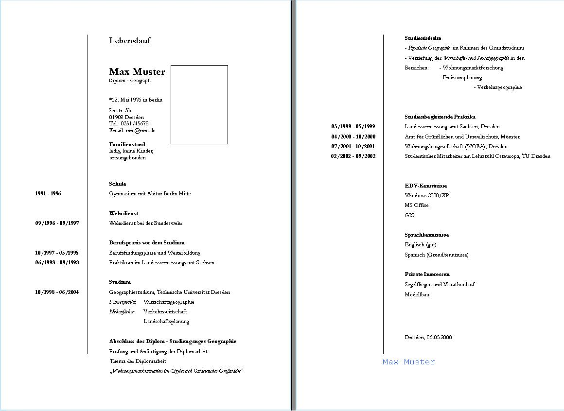 Beste Probe Lebenslauf Schüler Gymnasium Fotos - Entry Level Resume ...